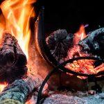 Como hacer fuego para un asado